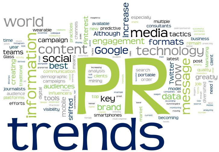 pr trends public relations