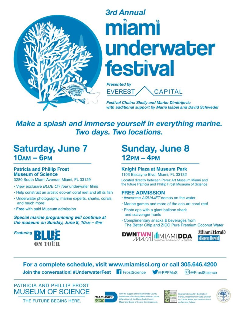 3rd Annual Miami Underwater Festival 2014