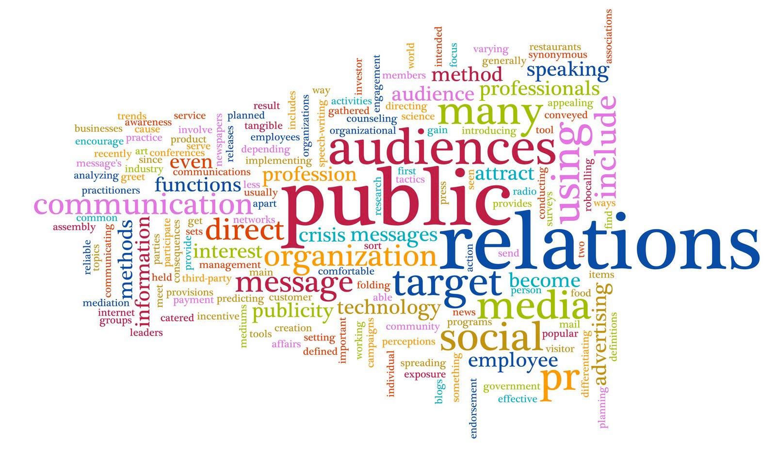 public relations pr social media