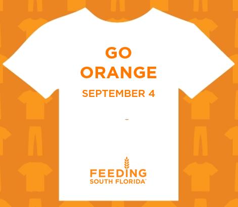 Go Orange t-shit