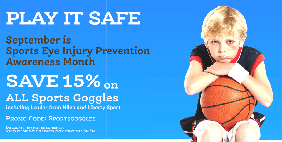 play it safe september reports eye injury prevention month sports goggles