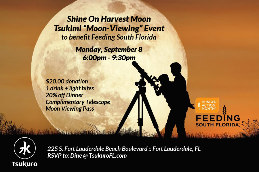 shine on harvest moon tsunami moon viewing feeding south florida