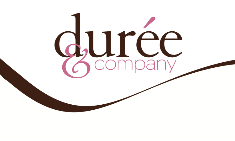Durée and company swirl logo