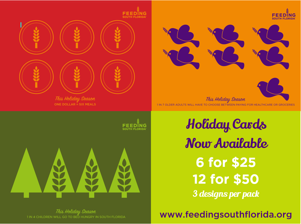 feeding south florida holiday cards