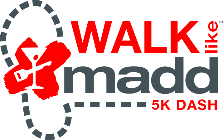 walk like madd 5k dash logo
