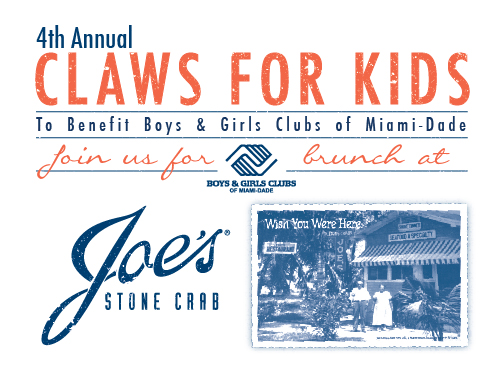 4th annual claws for kids to benefit boys and girls clubs of miami dade