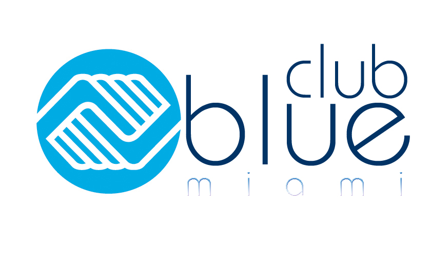 Club Blue Miami logo