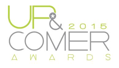 Up & Comer logo 2015