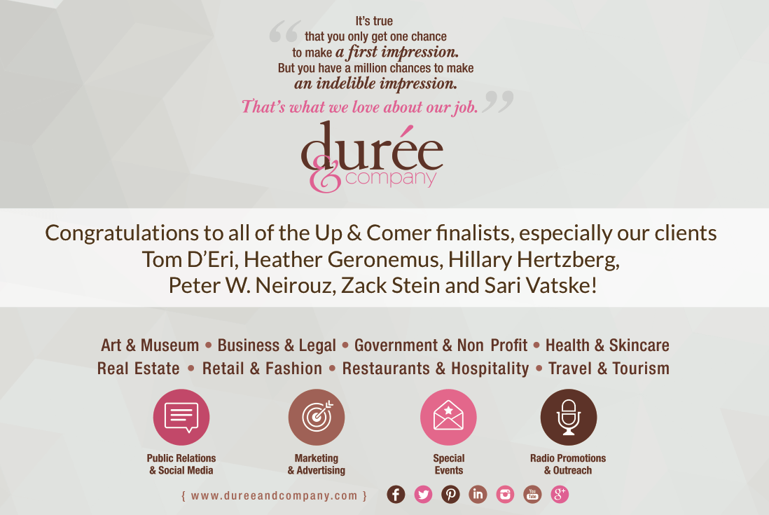 duree and company congratulations
