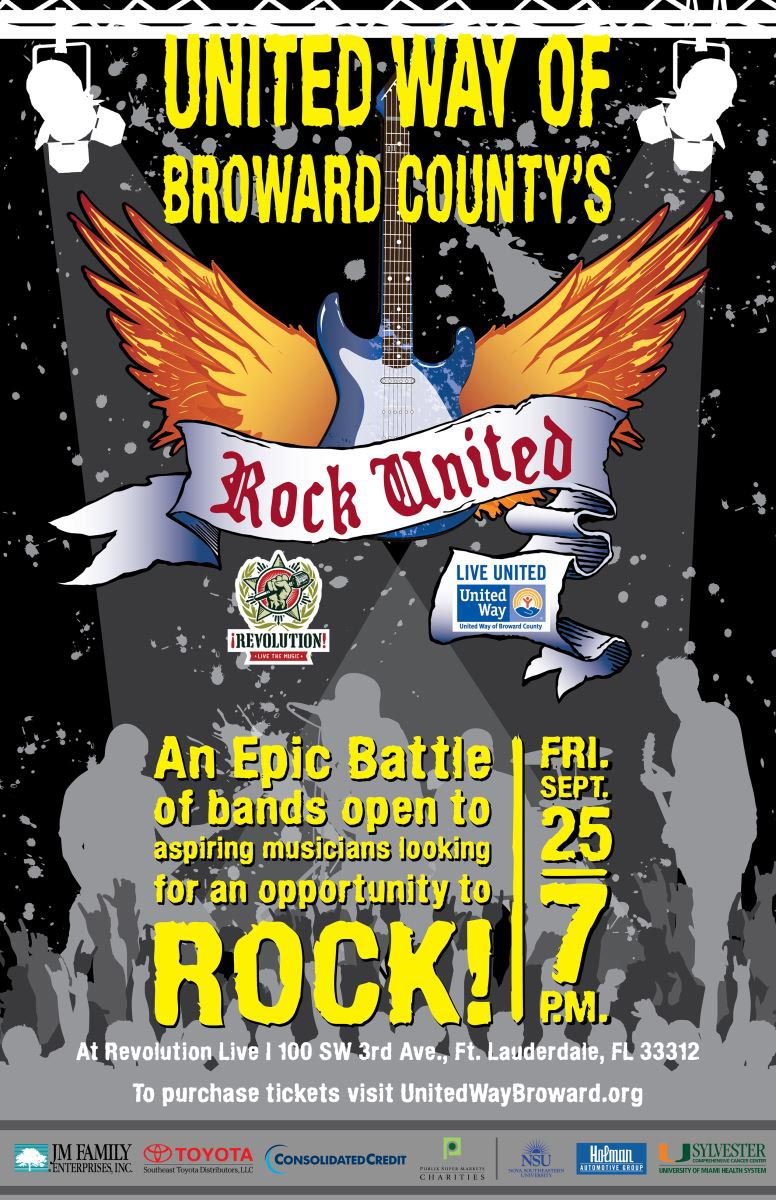 united way of broward county's rock united