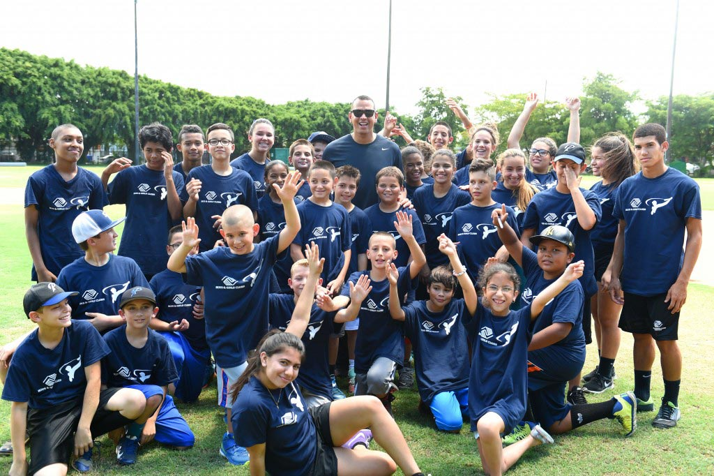 A-Rod Baseball Clinic
