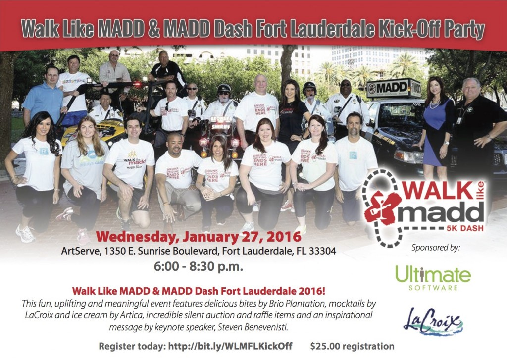 MADD Kick Off 2016