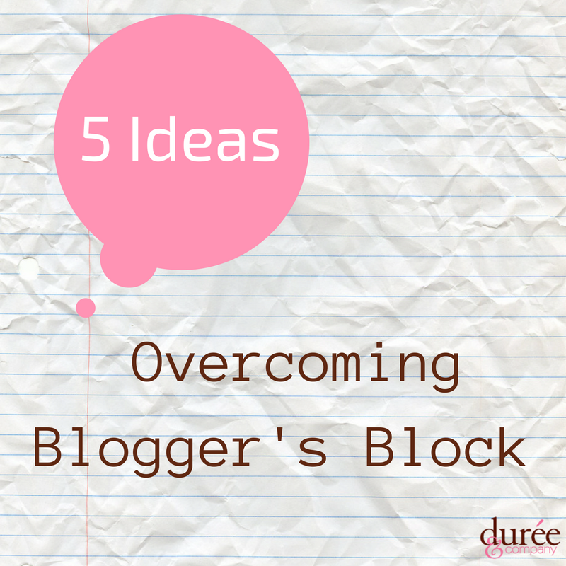 bloggers block Durée and company