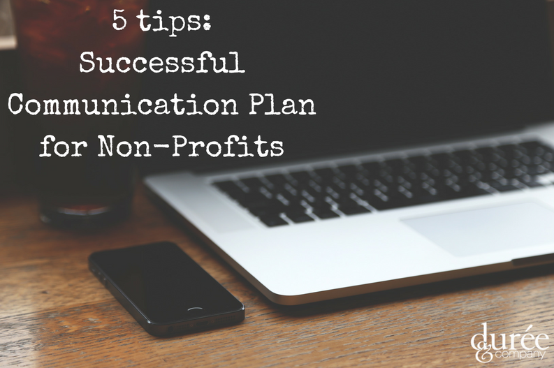 successful communication plan for nonprofits