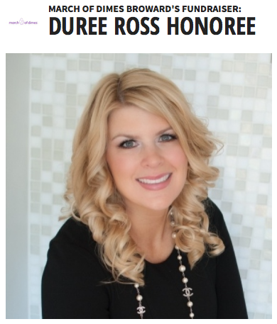 durée ross march of dimes honoree