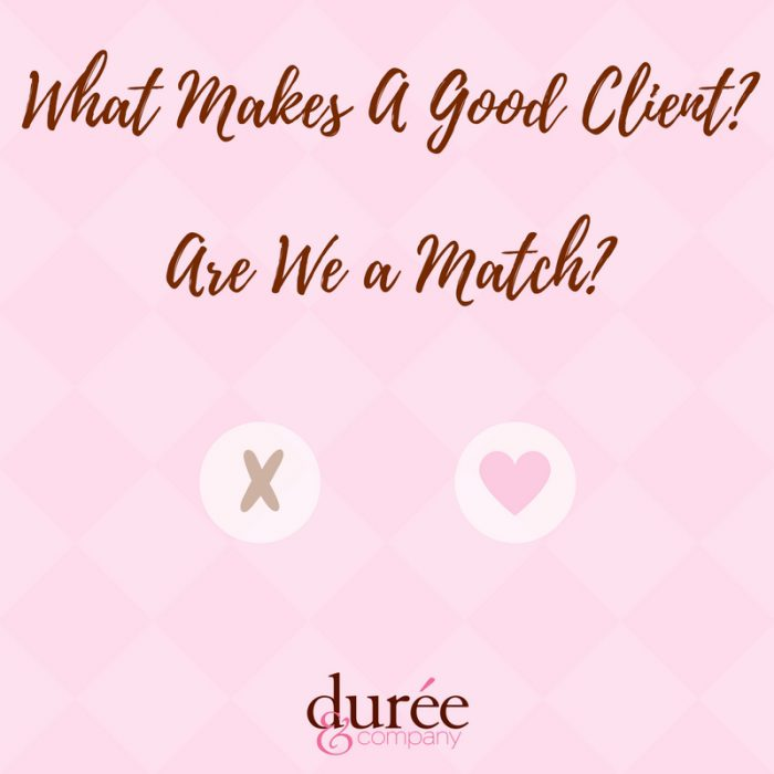 what makes good client