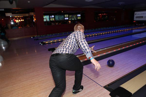 Jon Jay Celebrity Bowling Challenge 11