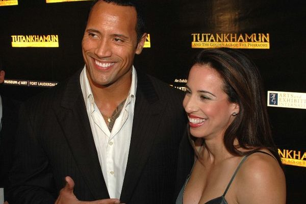 The Rock Dwayne Johnson, wife Danni