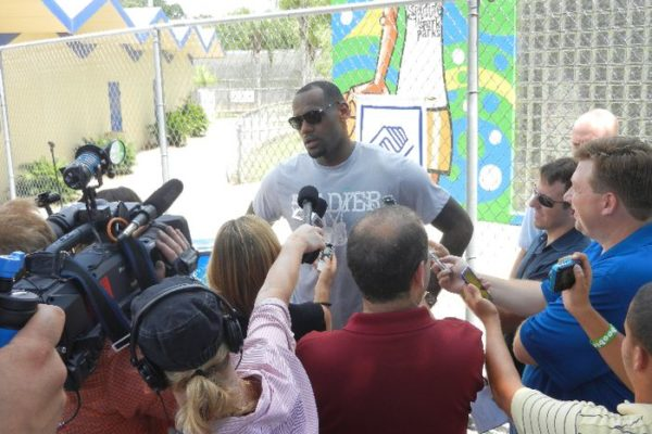 LeBron James Sprite Event 04