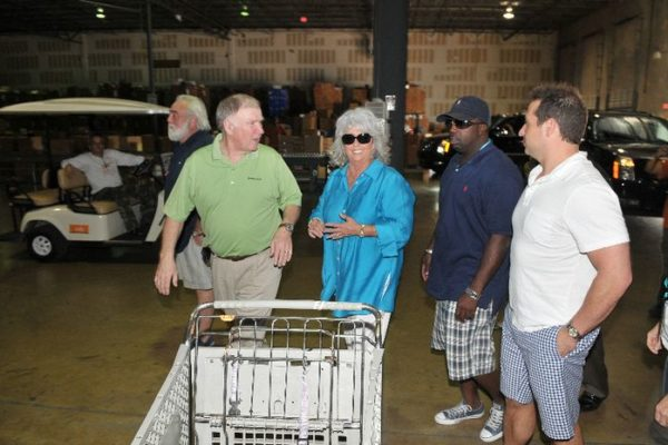 Paula Deen at Feeding South Florida 06