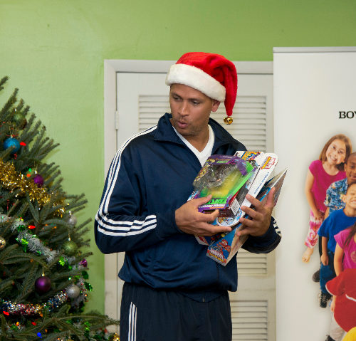 A-Rod at Boys & Girls Clubs of Miami – Dade