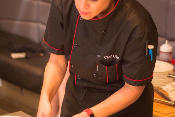Chef Gina Sansonia