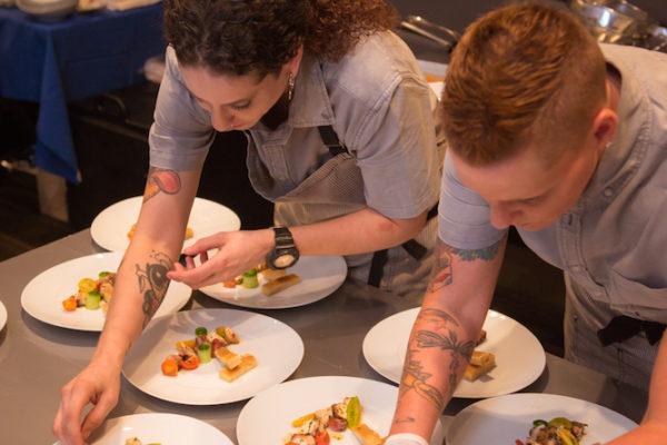 Chef Robyn Almodovar, Heather Waid