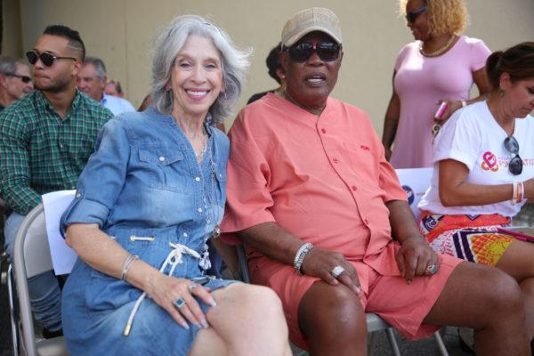 Joyce Moore & Sam Moore