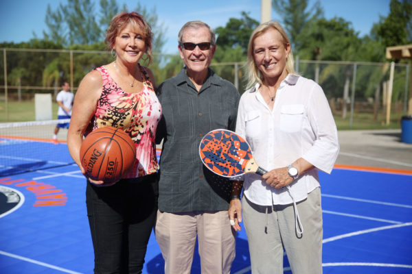 Nancy Lieberman, Jim Bernhardt, & Martina Navratilova1